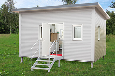 Residential Container - exterior view