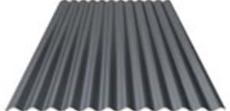 Steel profile sheet cladding roof 01