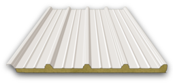 Mineral wool composite roof panel