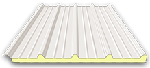 Sandwich Roof-panel with trapezoidal profile
