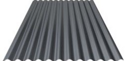 Steel profile sheet cladding Wall 01