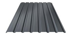 Steel profile sheet cladding wall 03